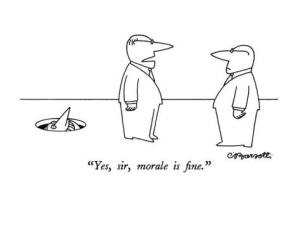charles-barsotti-yes-sir-morale-is-fine-new-yorker-cartoon